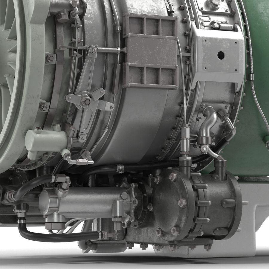 Aircraft Engines Collection royalty-free 3d model - Preview no. 164