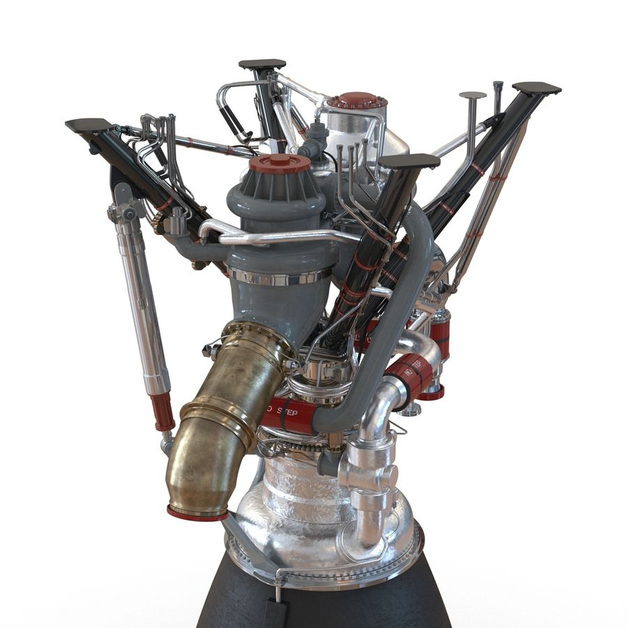 Aircraft Engines Collection royalty-free 3d model - Preview no. 86