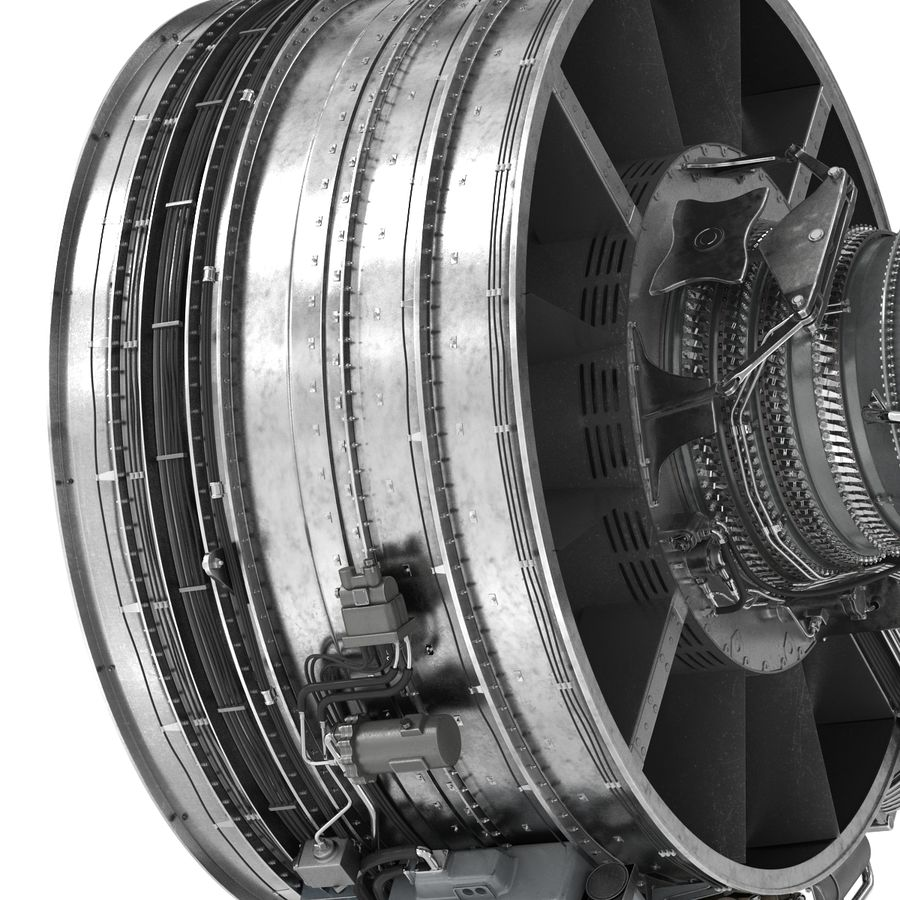Aircraft Engines Collection royalty-free 3d model - Preview no. 123