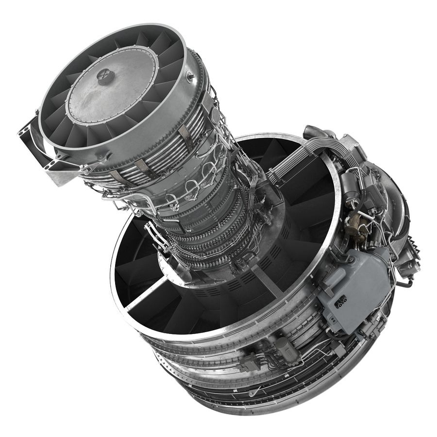 Aircraft Engines Collection royalty-free 3d model - Preview no. 111