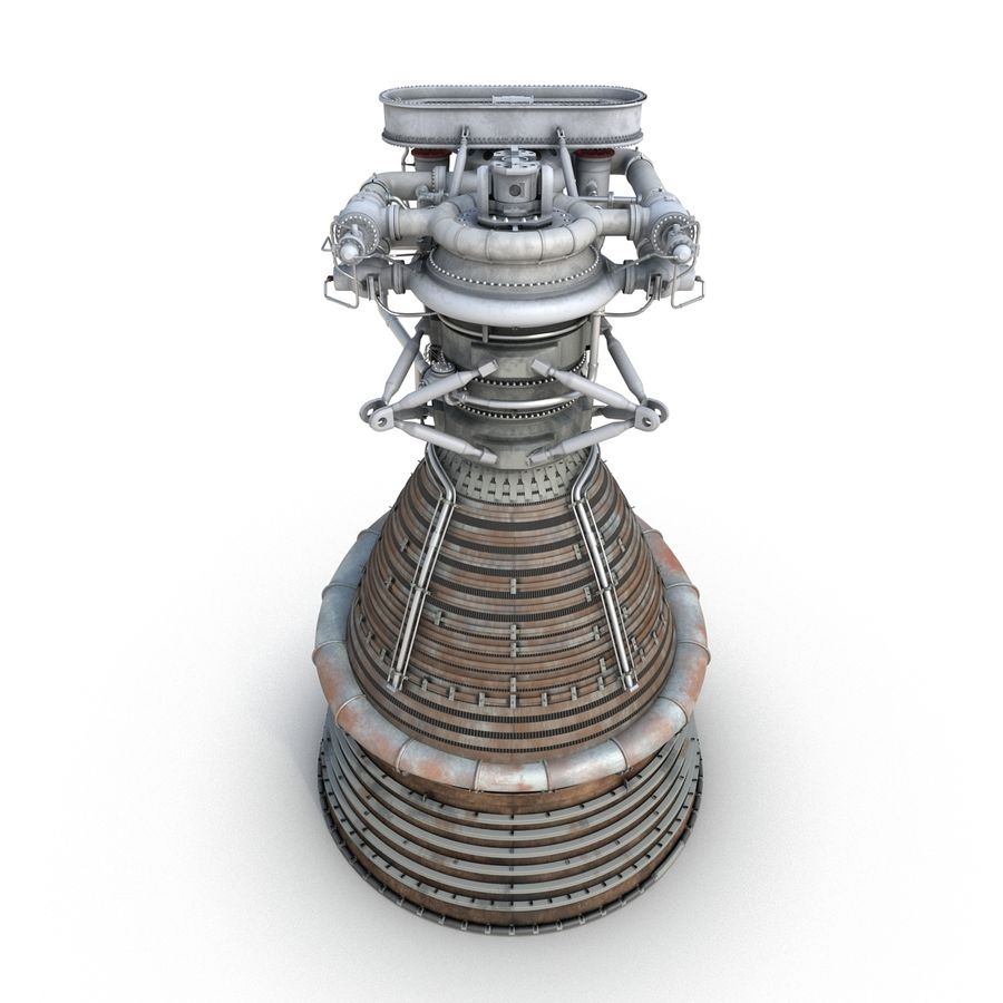 Aircraft Engines Collection royalty-free 3d model - Preview no. 69