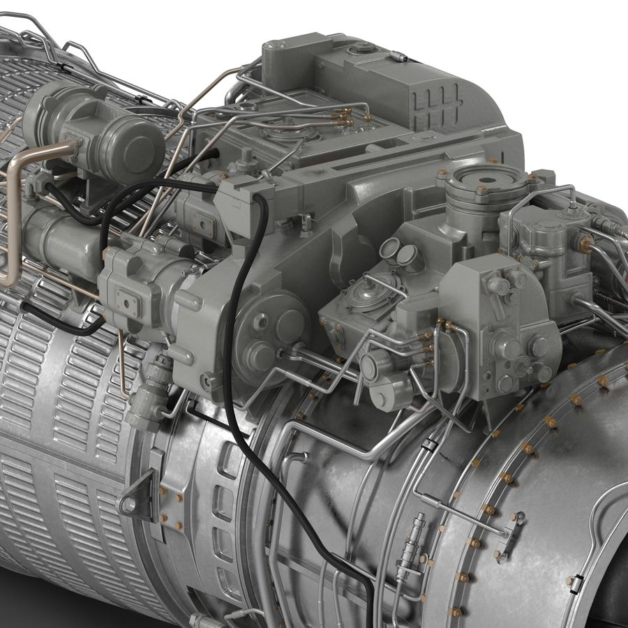 Aircraft Engines Collection royalty-free 3d model - Preview no. 151