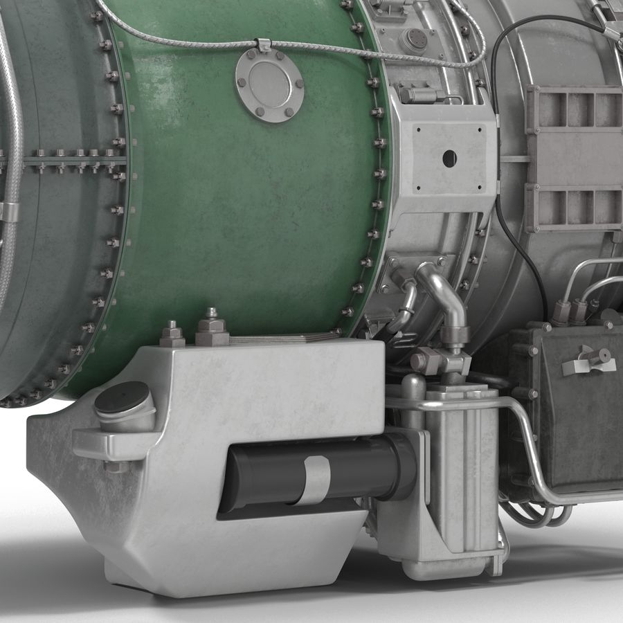 Aircraft Engines Collection royalty-free 3d model - Preview no. 166