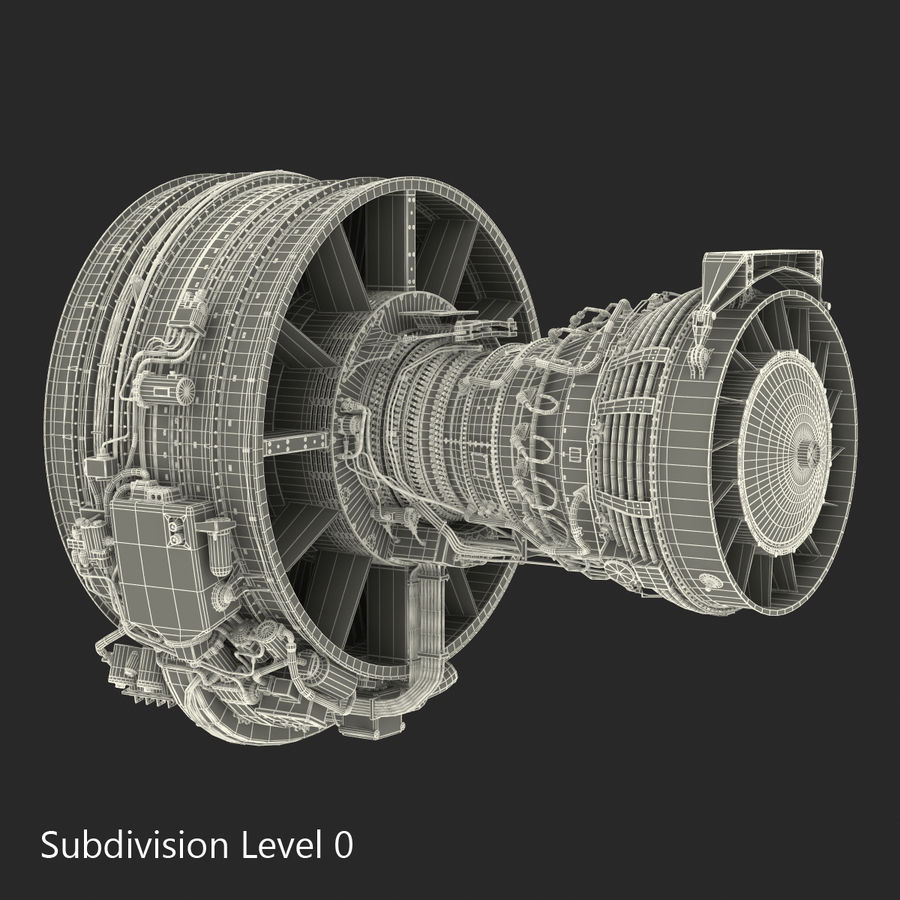 Aircraft Engines Collection royalty-free 3d model - Preview no. 204