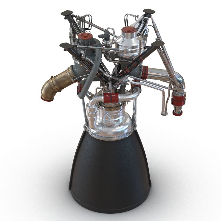 Aircraft Engines Collection royalty-free 3d model - Preview no. 81