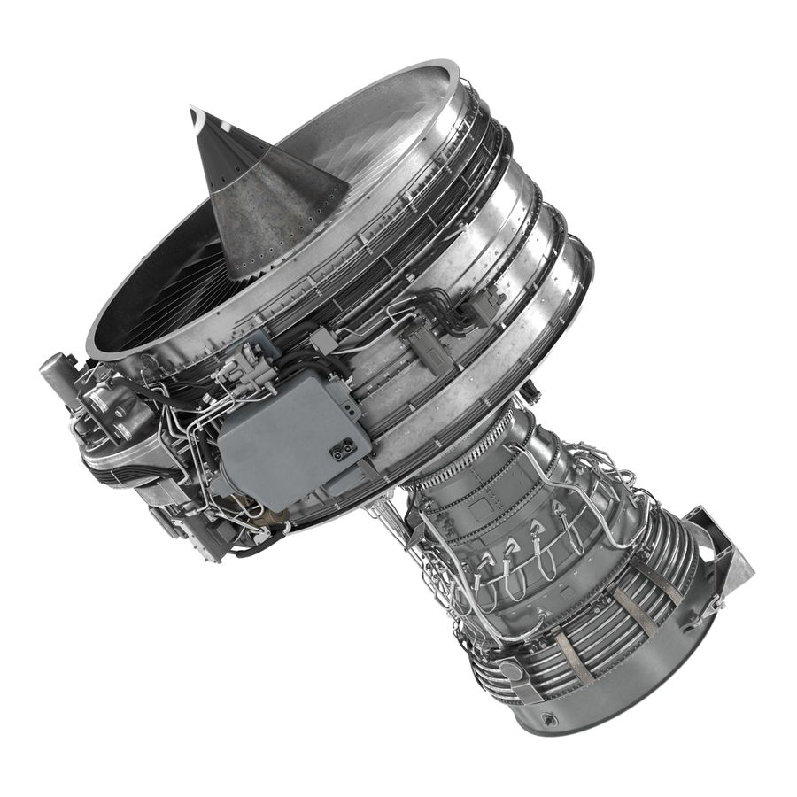 Aircraft Engines Collection royalty-free 3d model - Preview no. 110