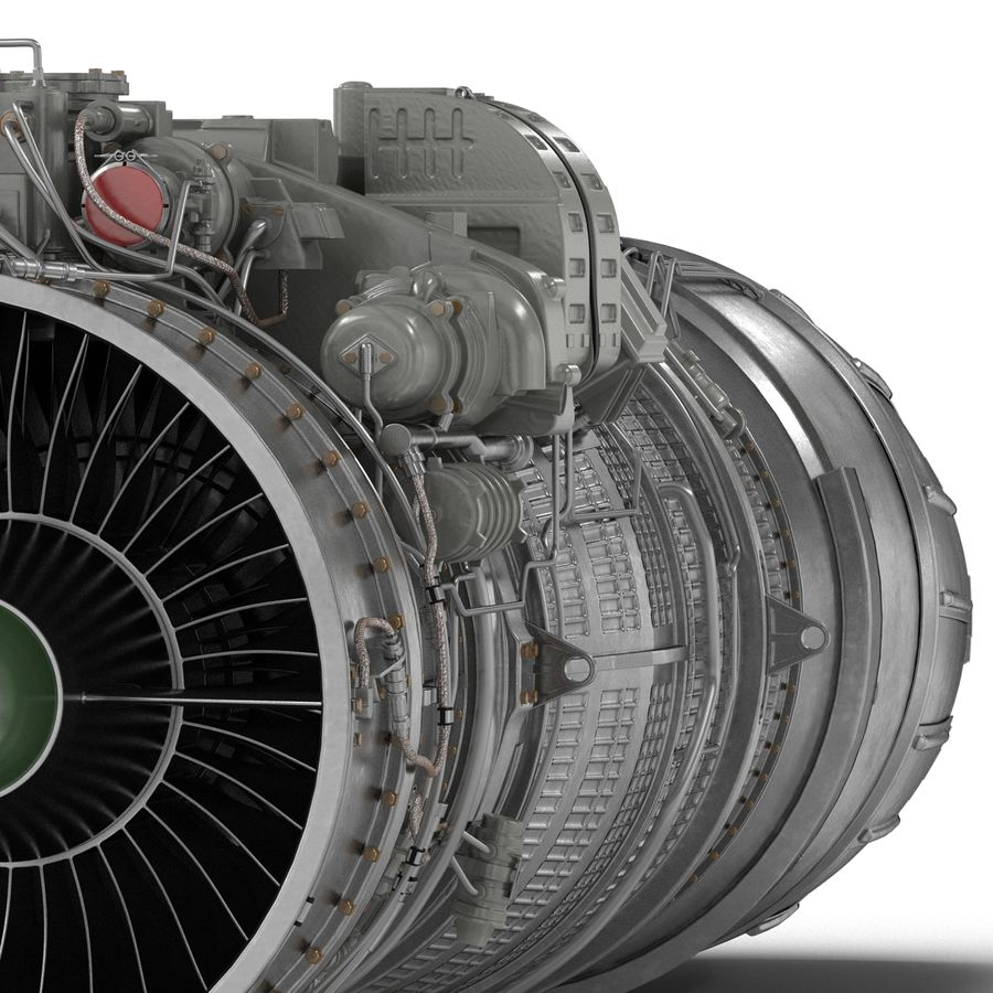 Aircraft Engines Collection royalty-free 3d model - Preview no. 150