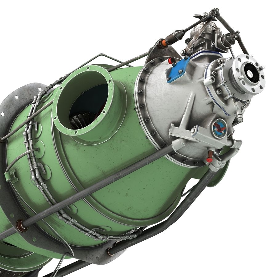 Aircraft Engines Collection royalty-free 3d model - Preview no. 193
