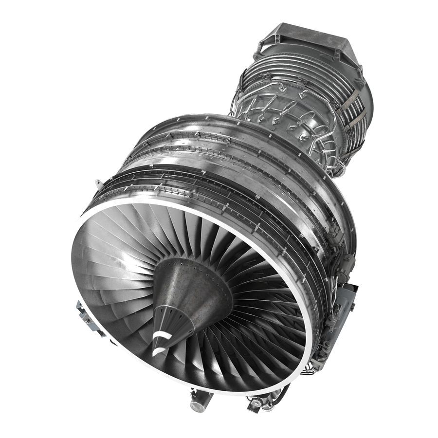 Aircraft Engines Collection royalty-free 3d model - Preview no. 106