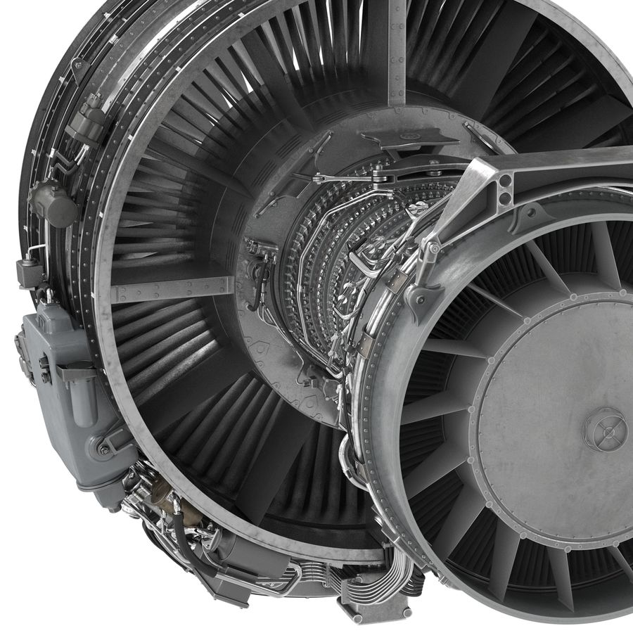 Aircraft Engines Collection royalty-free 3d model - Preview no. 114