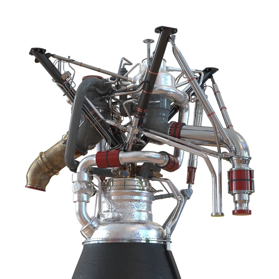 Aircraft Engines Collection royalty-free 3d model - Preview no. 87