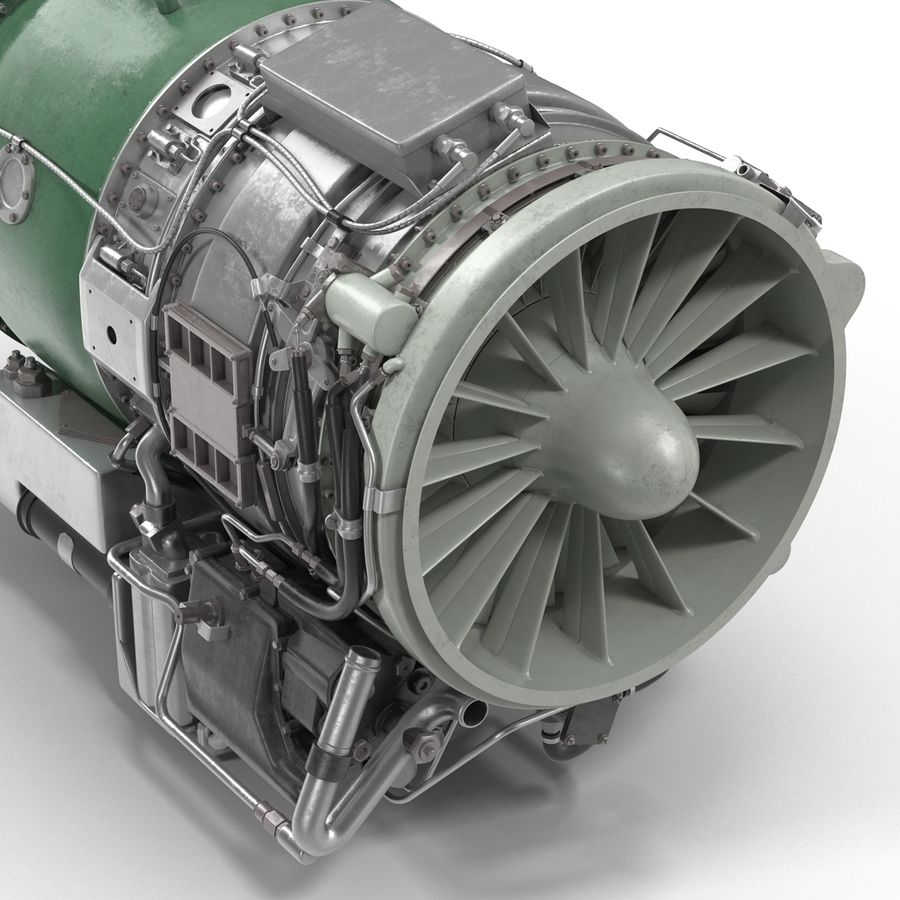Aircraft Engines Collection royalty-free 3d model - Preview no. 161