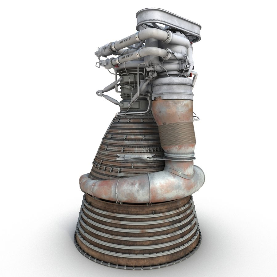 Aircraft Engines Collection royalty-free 3d model - Preview no. 64