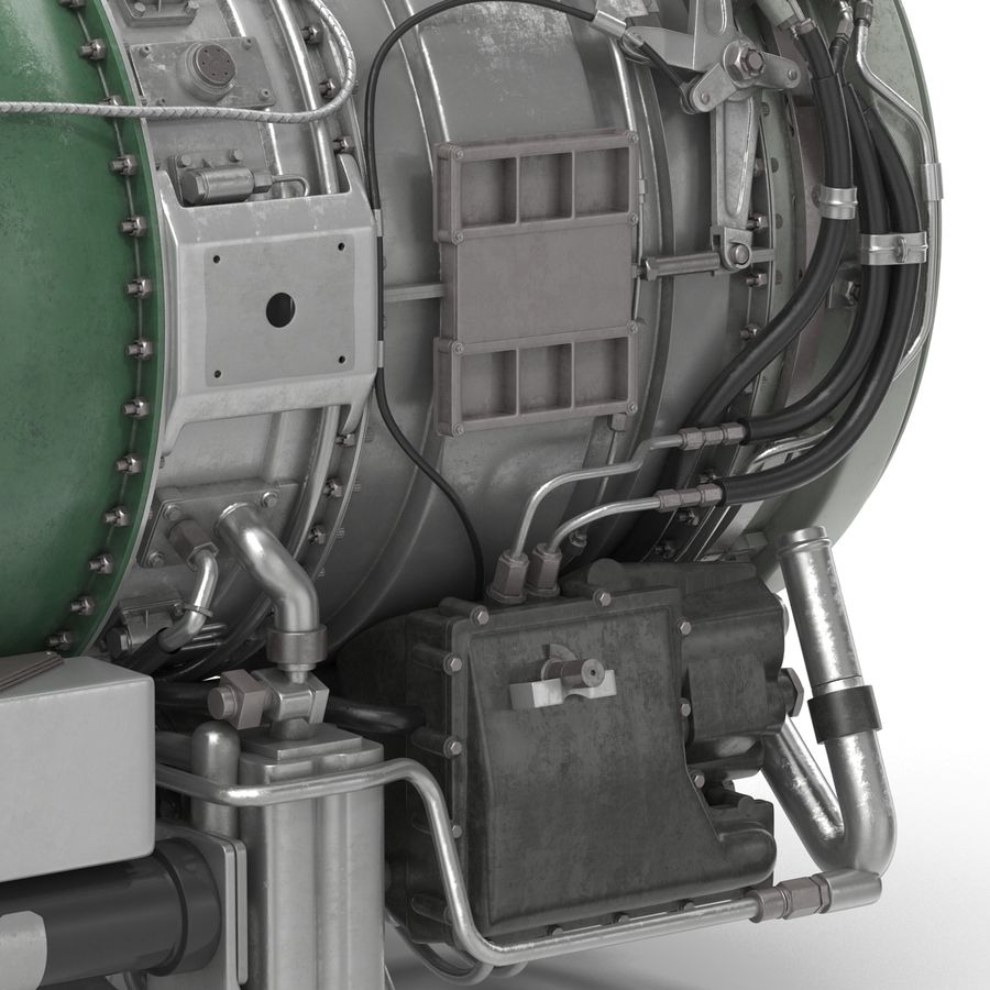 Aircraft Engines Collection royalty-free 3d model - Preview no. 165