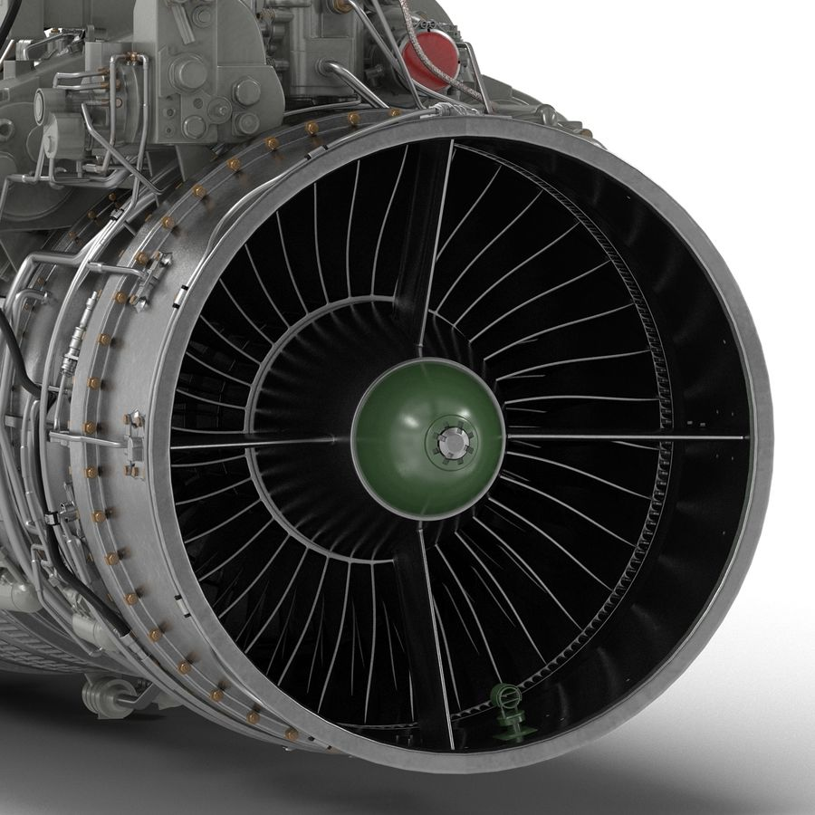Aircraft Engines Collection royalty-free 3d model - Preview no. 141