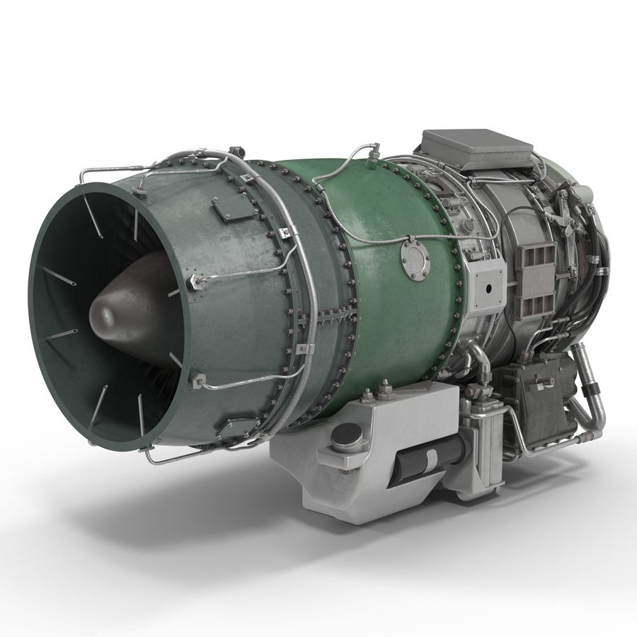Aircraft Engines Collection royalty-free 3d model - Preview no. 153