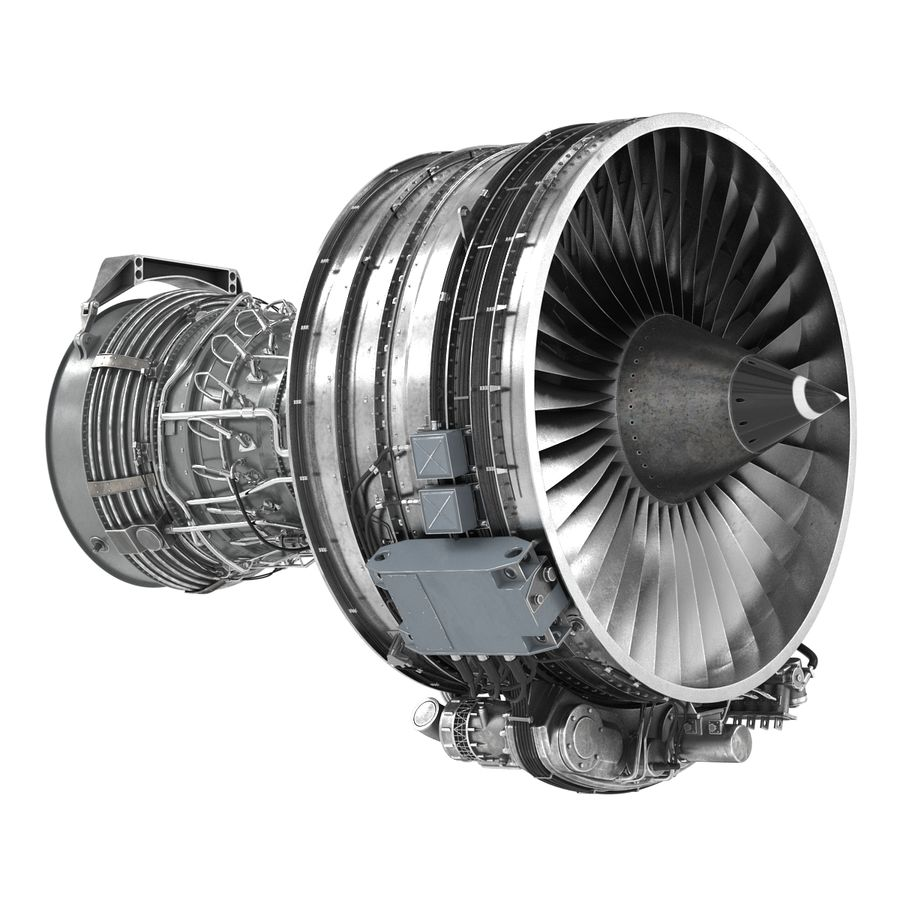 Aircraft Engines Collection royalty-free 3d model - Preview no. 102