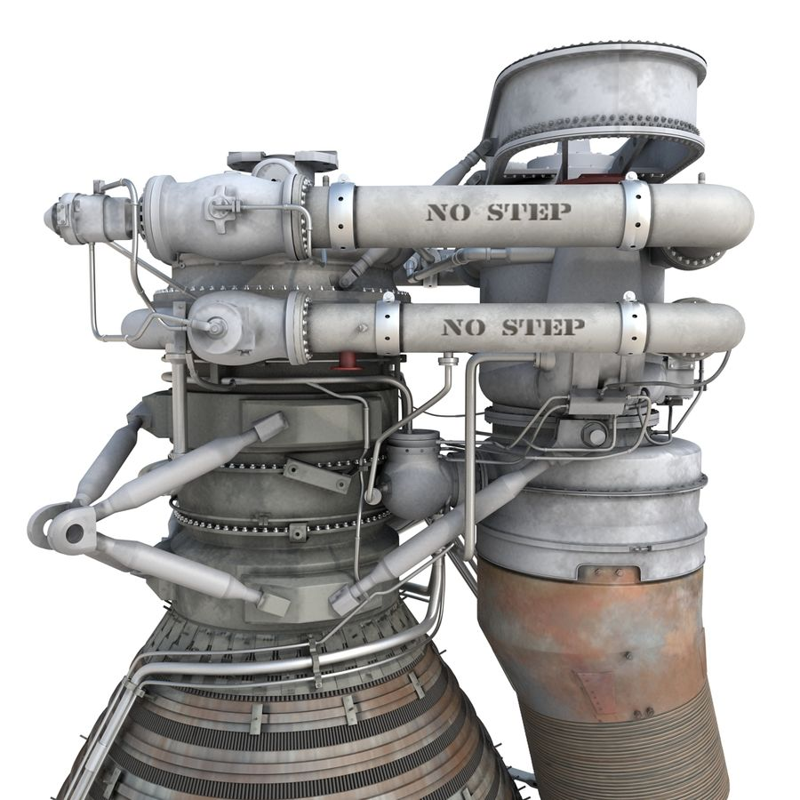 Aircraft Engines Collection royalty-free 3d model - Preview no. 73