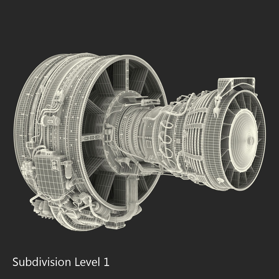 Aircraft Engines Collection royalty-free 3d model - Preview no. 205