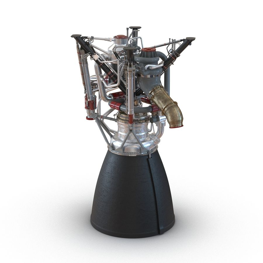Aircraft Engines Collection royalty-free 3d model - Preview no. 79