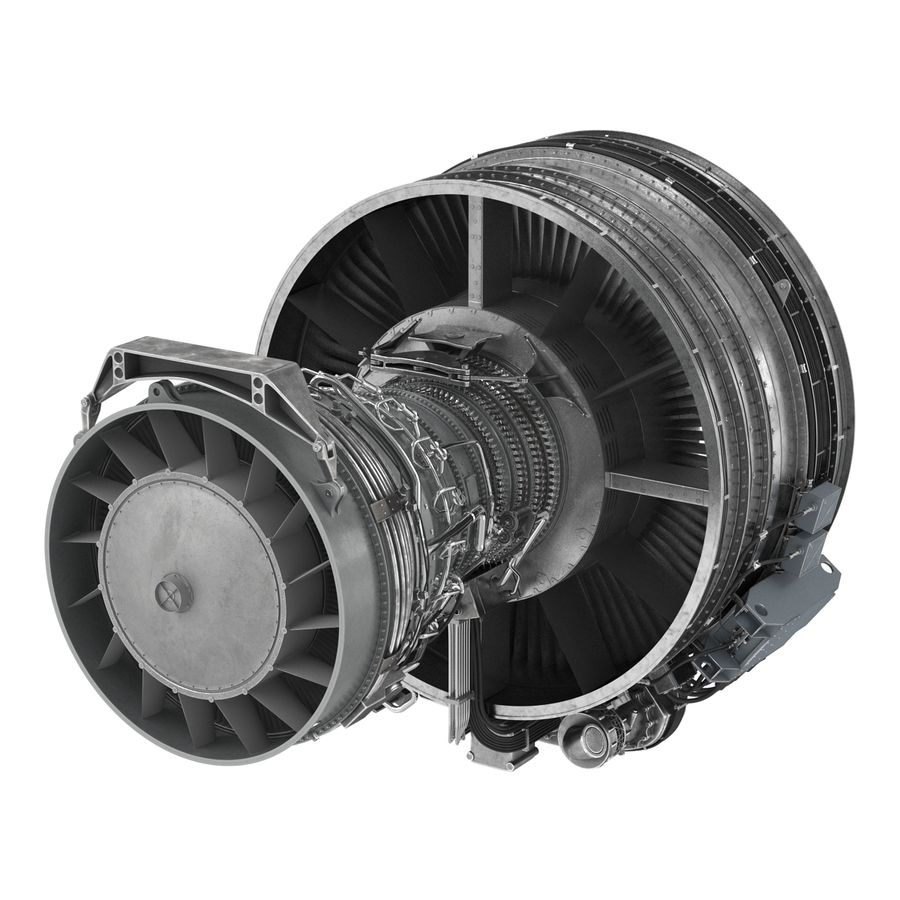 Aircraft Engines Collection royalty-free 3d model - Preview no. 104