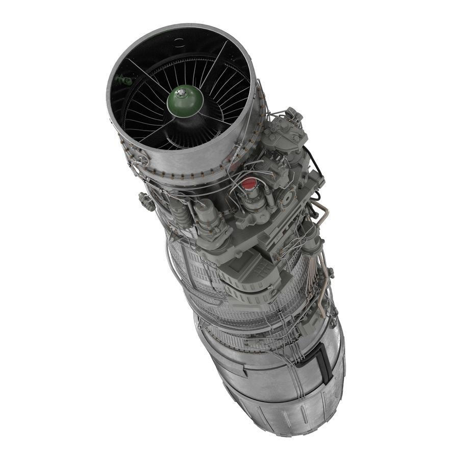 Aircraft Engines Collection royalty-free 3d model - Preview no. 136