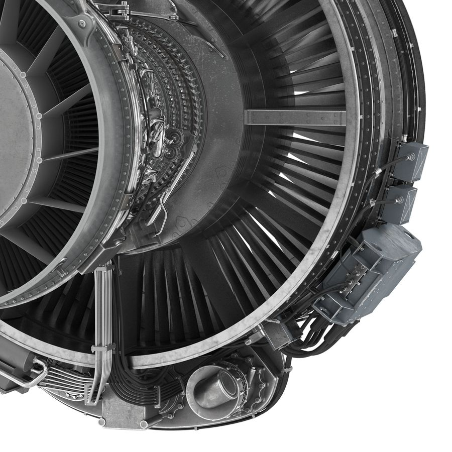 Aircraft Engines Collection royalty-free 3d model - Preview no. 120