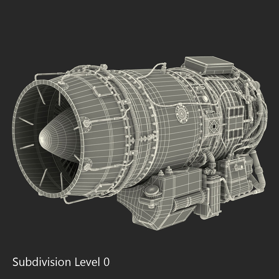 Aircraft Engines Collection royalty-free 3d model - Preview no. 208