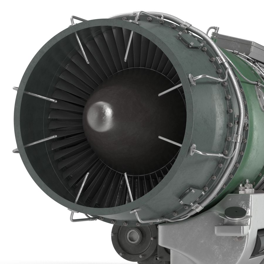 Aircraft Engines Collection royalty-free 3d model - Preview no. 162