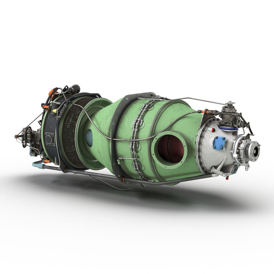 Aircraft Engines Collection royalty-free 3d model - Preview no. 172
