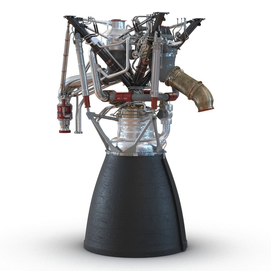 Aircraft Engines Collection royalty-free 3d model - Preview no. 78