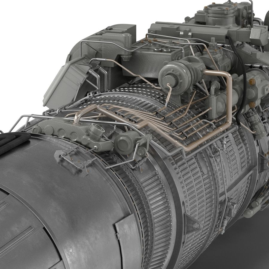 Aircraft Engines Collection royalty-free 3d model - Preview no. 152