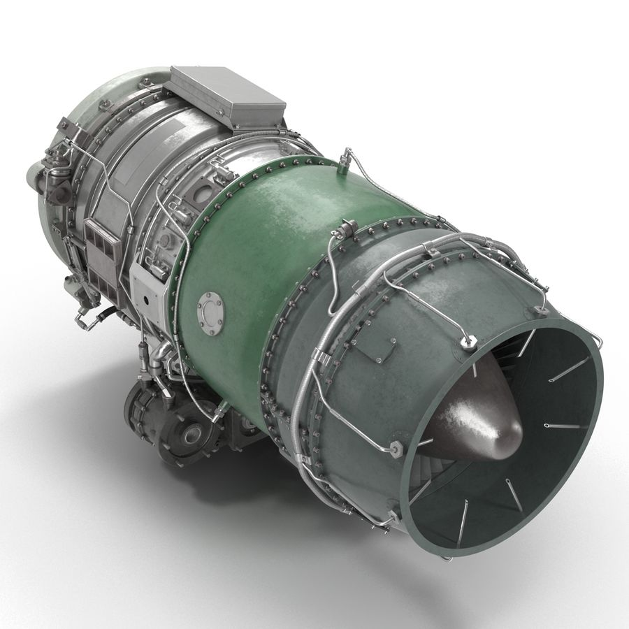 Aircraft Engines Collection royalty-free 3d model - Preview no. 158