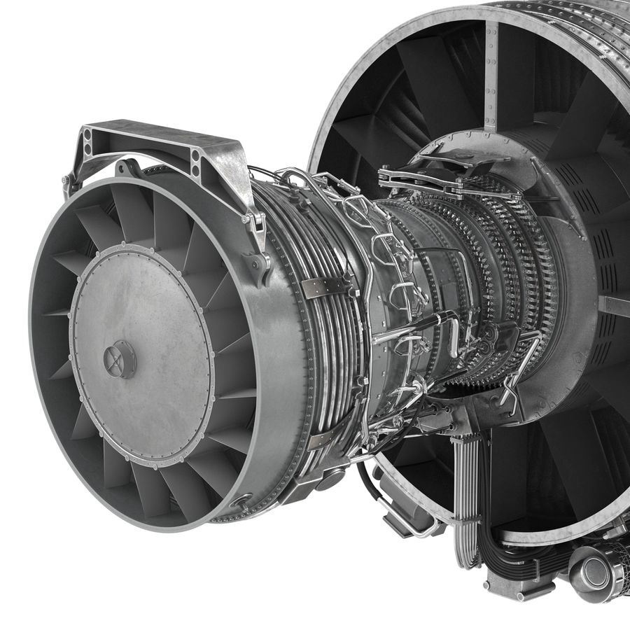 Aircraft Engines Collection royalty-free 3d model - Preview no. 115