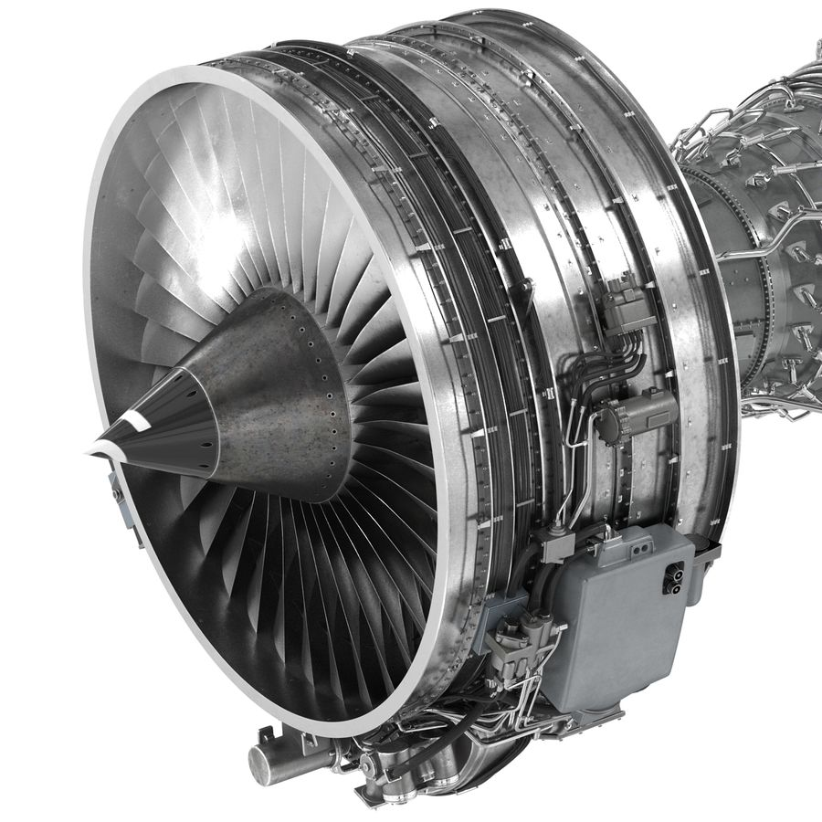 Aircraft Engines Collection royalty-free 3d model - Preview no. 112
