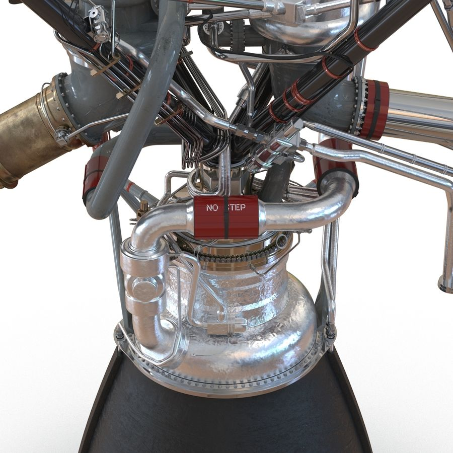 Aircraft Engines Collection royalty-free 3d model - Preview no. 91