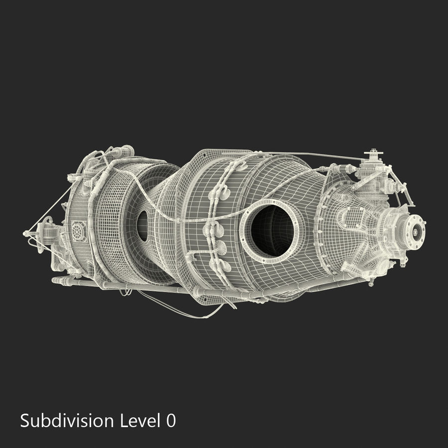 Aircraft Engines Collection royalty-free 3d model - Preview no. 210