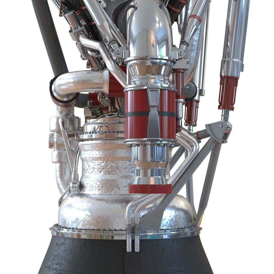 Aircraft Engines Collection royalty-free 3d model - Preview no. 95