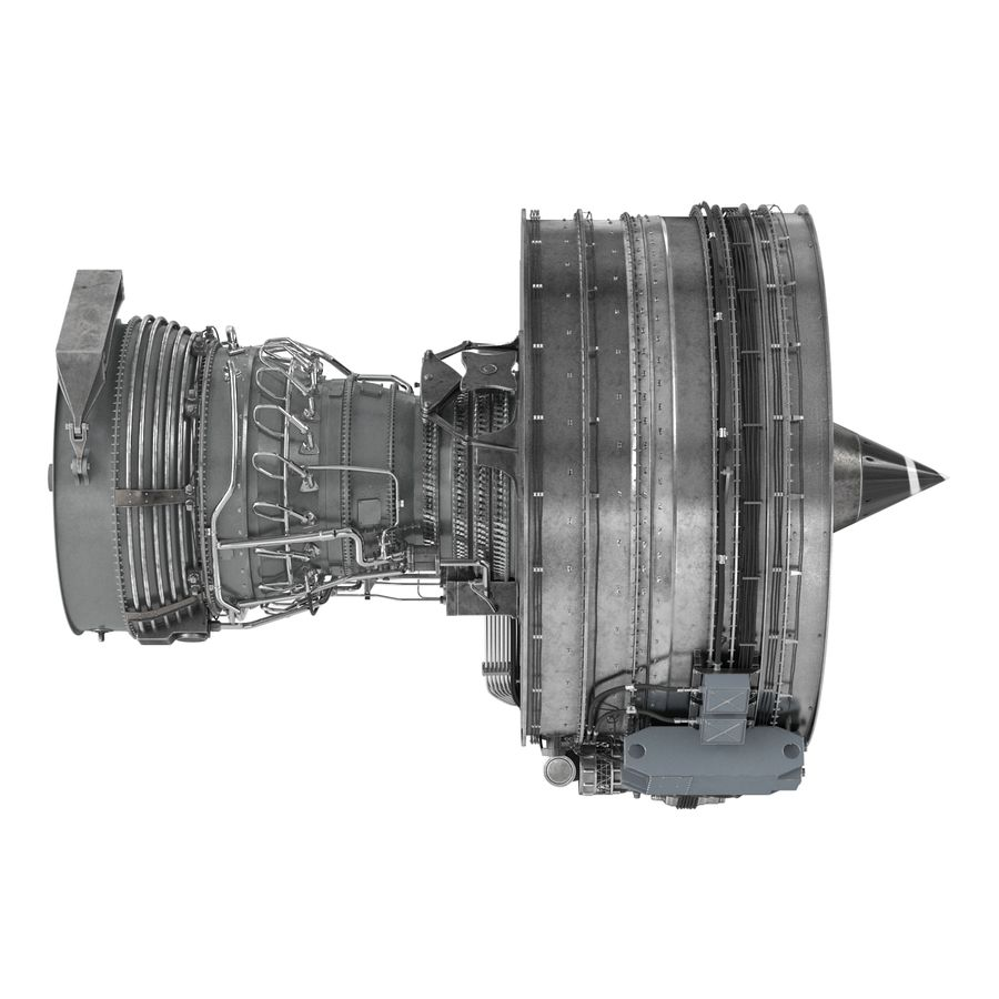 Aircraft Engines Collection royalty-free 3d model - Preview no. 103