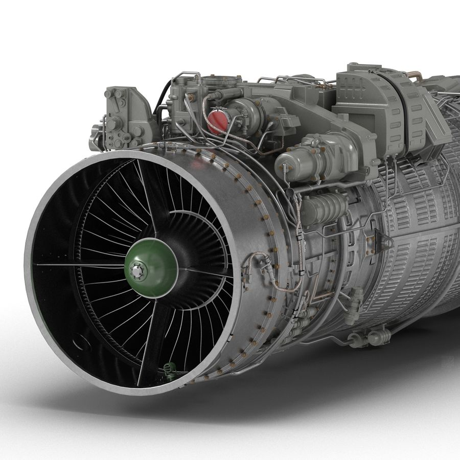 Aircraft Engines Collection royalty-free 3d model - Preview no. 138