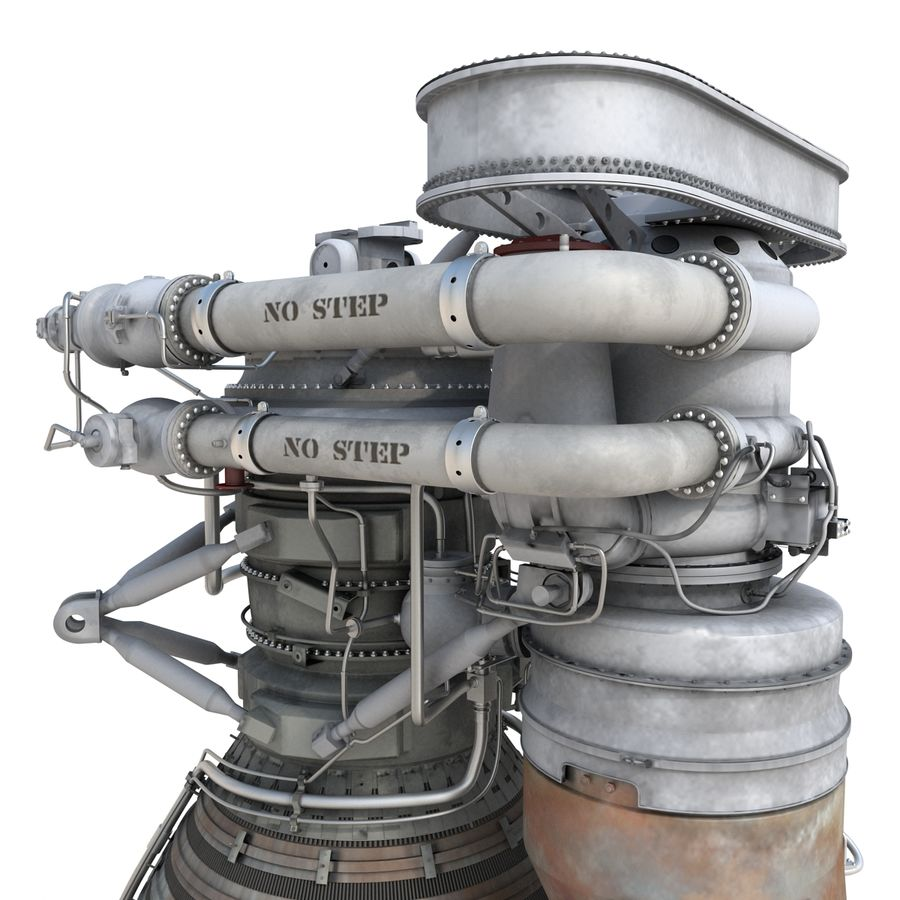 Aircraft Engines Collection royalty-free 3d model - Preview no. 74