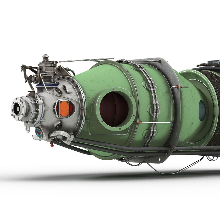 Aircraft Engines Collection royalty-free 3d model - Preview no. 183