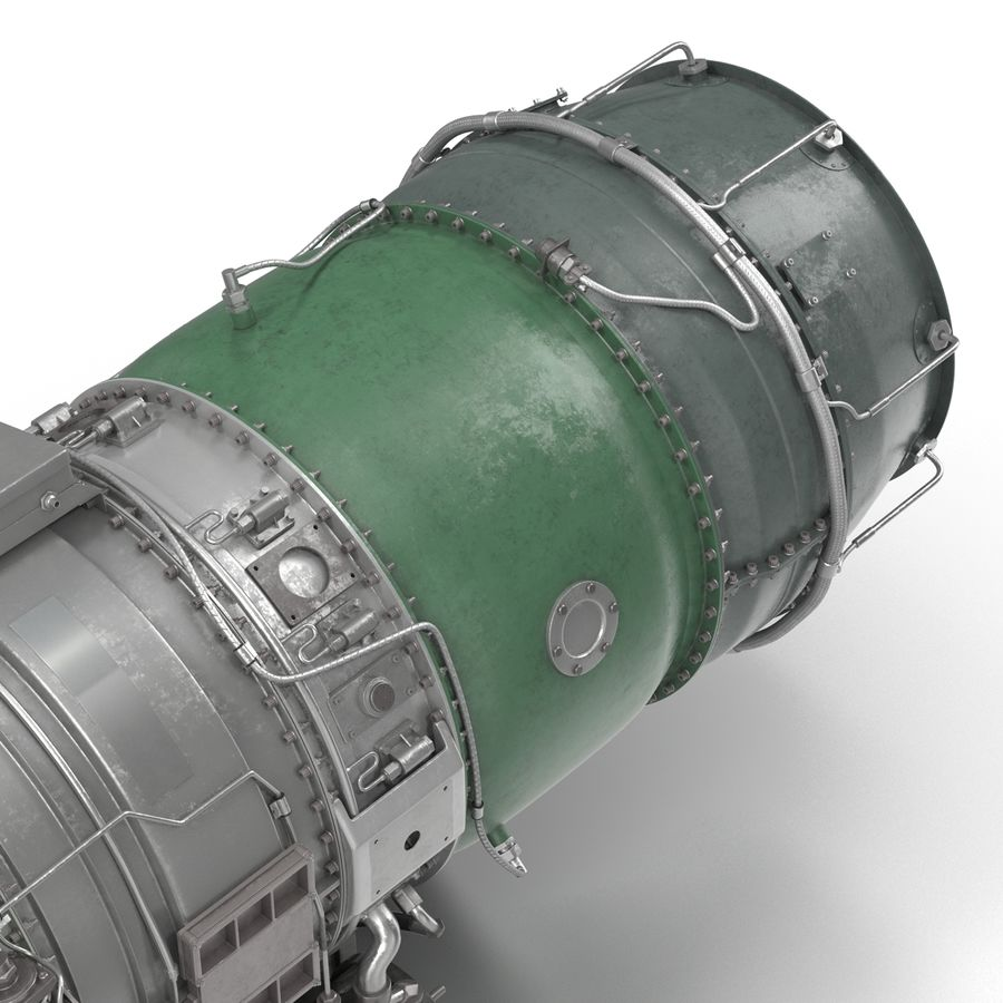 Aircraft Engines Collection royalty-free 3d model - Preview no. 160