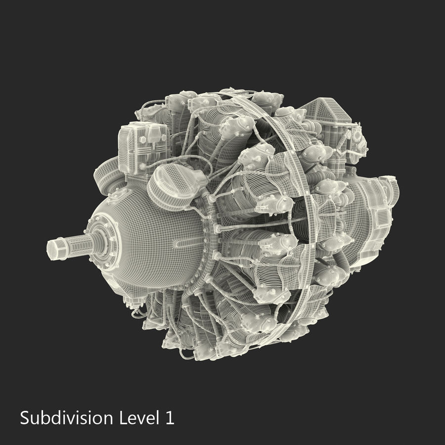 Aircraft Engines Collection royalty-free 3d model - Preview no. 201