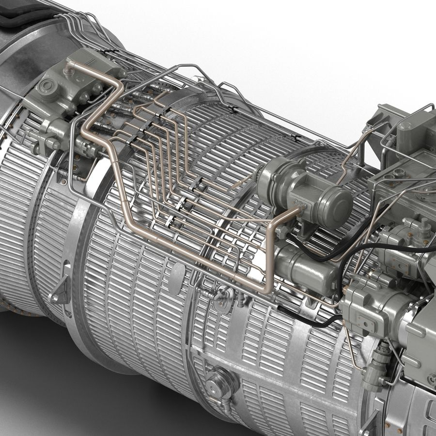 Aircraft Engines Collection royalty-free 3d model - Preview no. 147