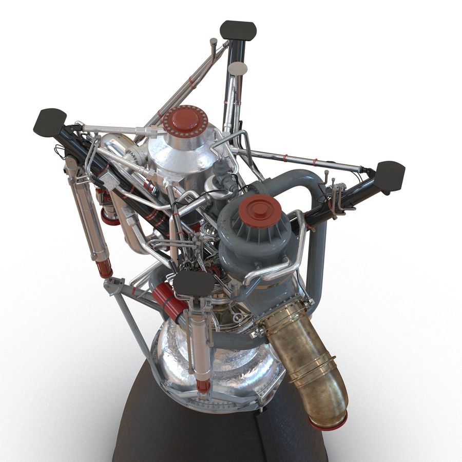 Aircraft Engines Collection royalty-free 3d model - Preview no. 85