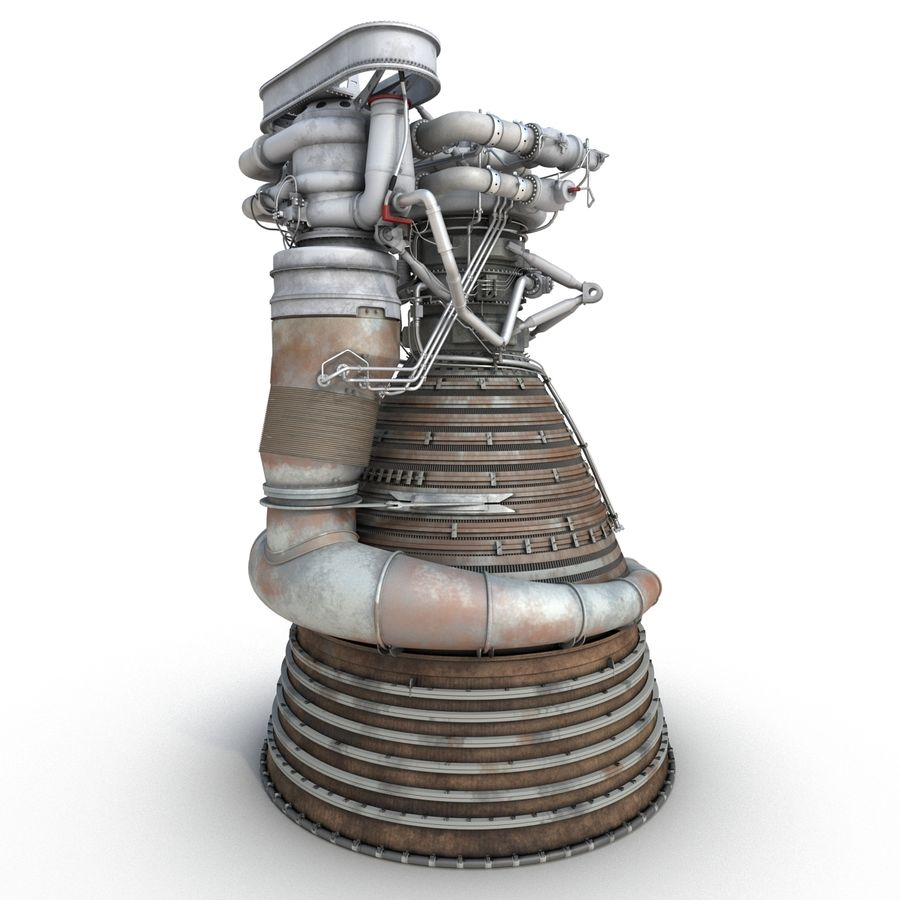 Aircraft Engines Collection royalty-free 3d model - Preview no. 66