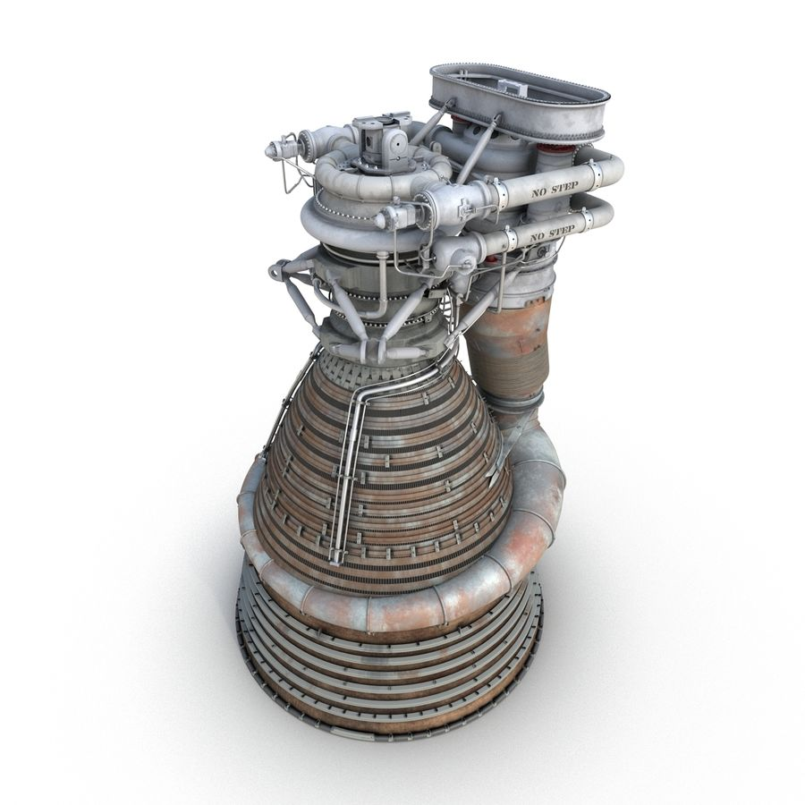 Aircraft Engines Collection royalty-free 3d model - Preview no. 70