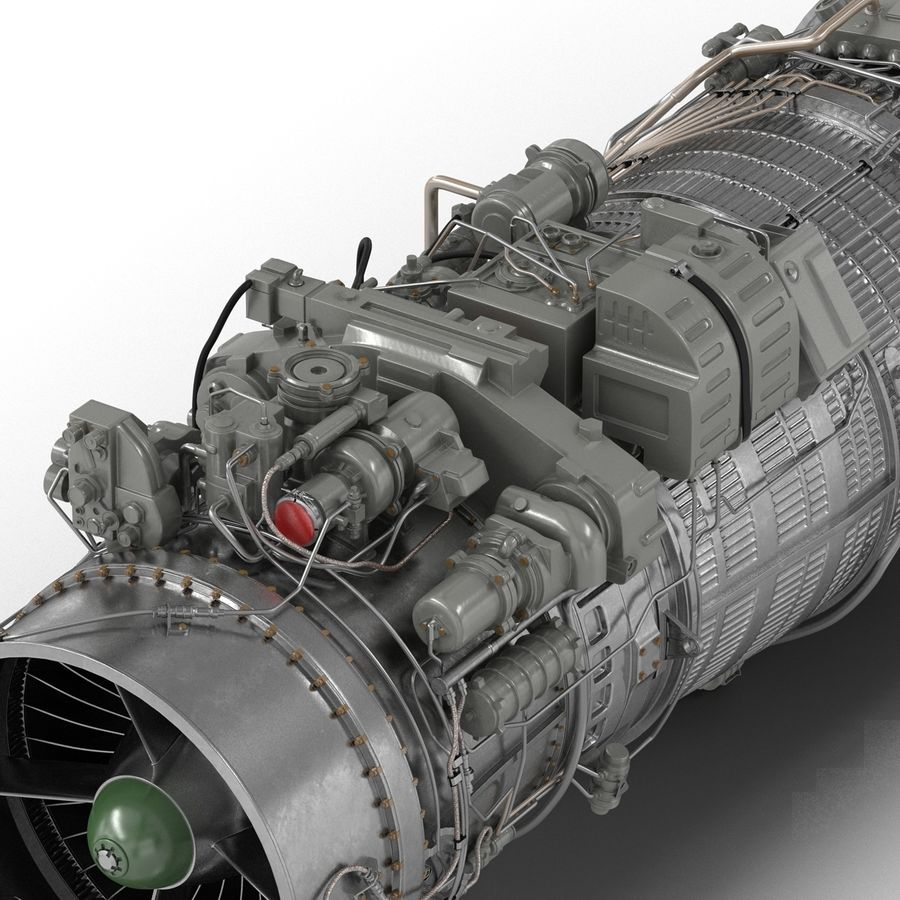 Aircraft Engines Collection royalty-free 3d model - Preview no. 146
