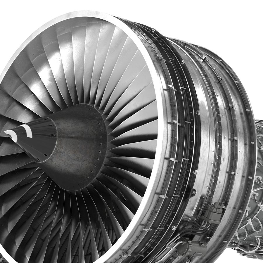 Aircraft Engines Collection royalty-free 3d model - Preview no. 122